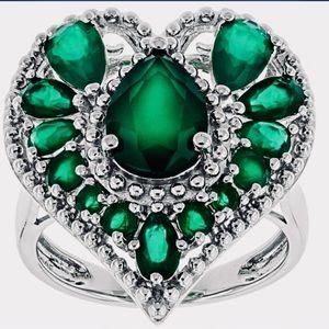 Green Onyx .925 Ring